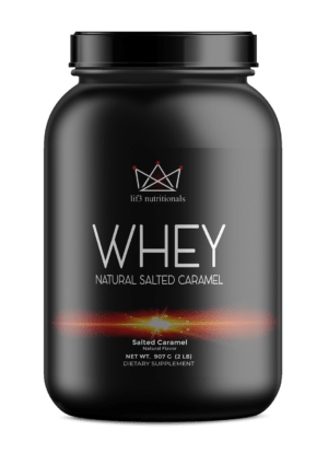 2lb Whey Natural Salted Caramel