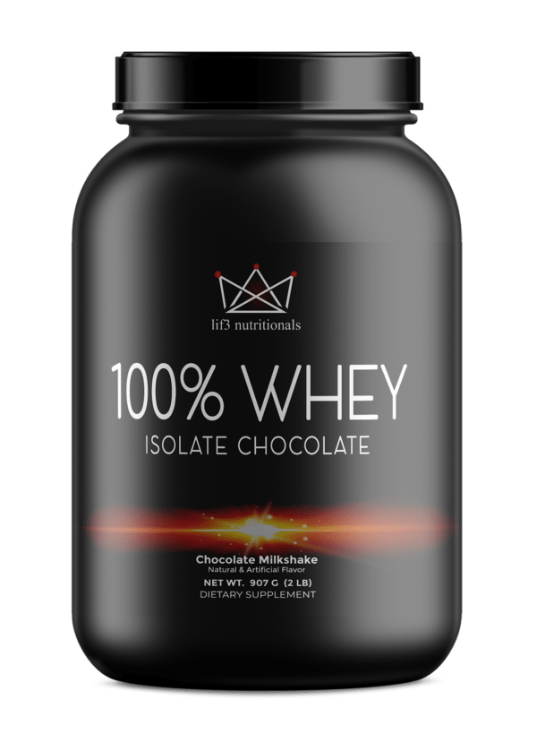 2lb 100% Whey Isolate Chocolate