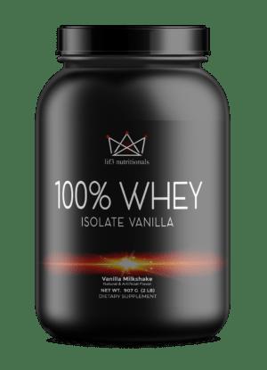 2lb 100% Whey Isolate Vanilla