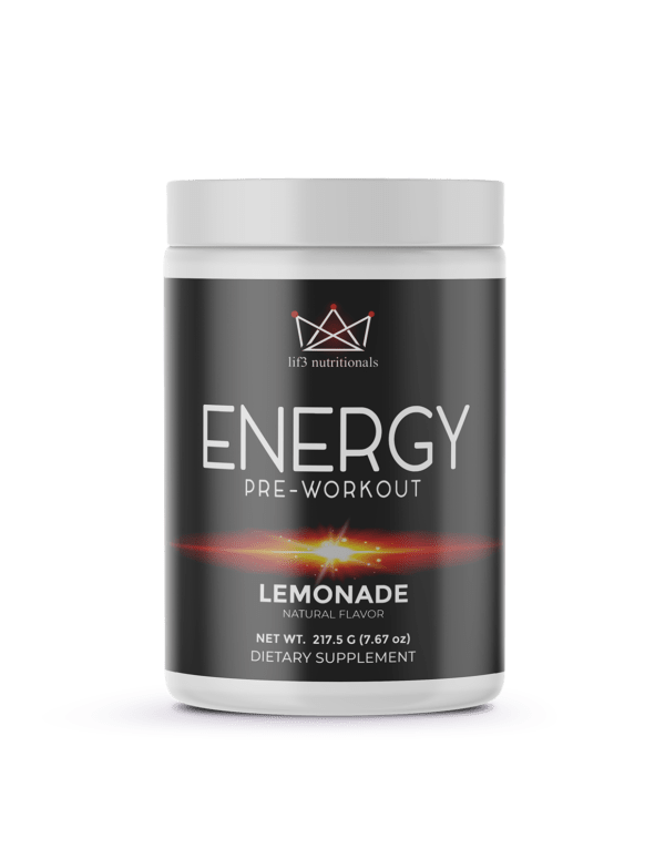 Energy Pre-Workout Lemonade 214g