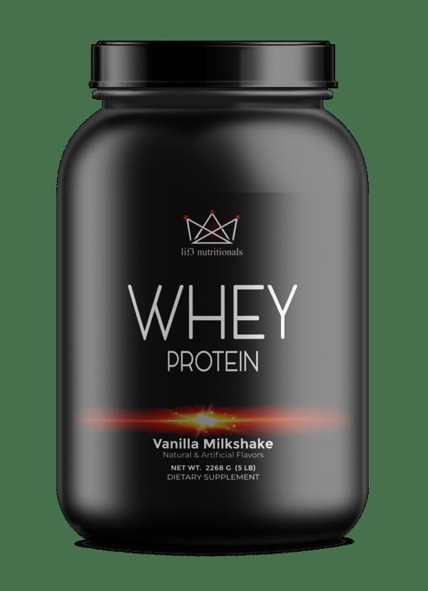 5lb Whey Protein Vanilla