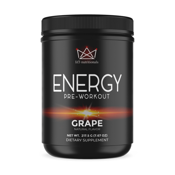 Energy Pre-Workout Grape 214g